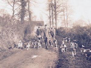 Exeter College beagle pack 1912 (Archives, Exeter College Oxford)