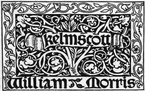 Kelmscott label