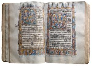 Library 021Bohun Psalter Illuminated Manuscript