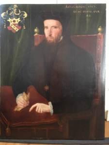 Portrait of Sir William Petre (1505/6-72); unknown artist 1567