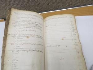 1605 Buttery book