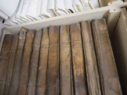 Buttery books in the college archive