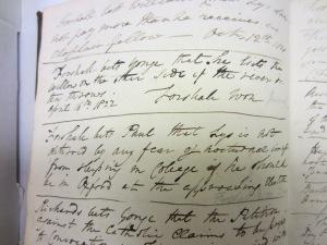 Betting book 1822