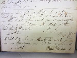 Kidlington race bet 1817